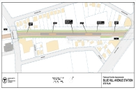Blue Hill Station Plan