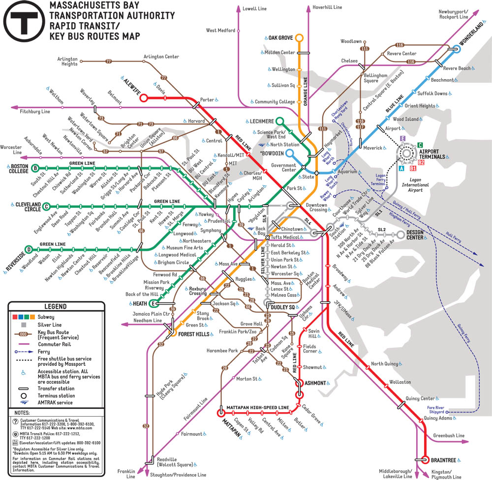 mbta about the mbta