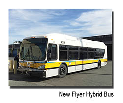 New Flyer Hybrid Bus