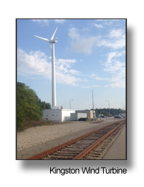 Kingston Wind Turbine Tracks