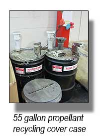 Propellant drums