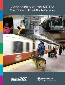 Accessibility at the T brochure cover. Click to enlarge.