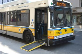 Low-Floor MBTA Bus