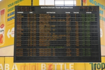South Station train departure board. Click to enlarge.