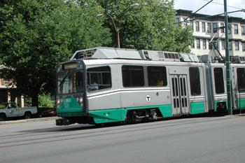Low Floor Green Line train