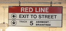 MBTA way finding signage. Click to enlarge.
