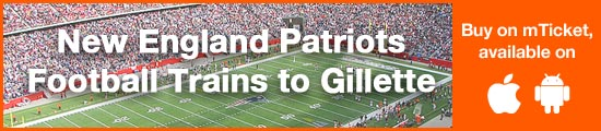 New England Patriots Football Trains to Gillette