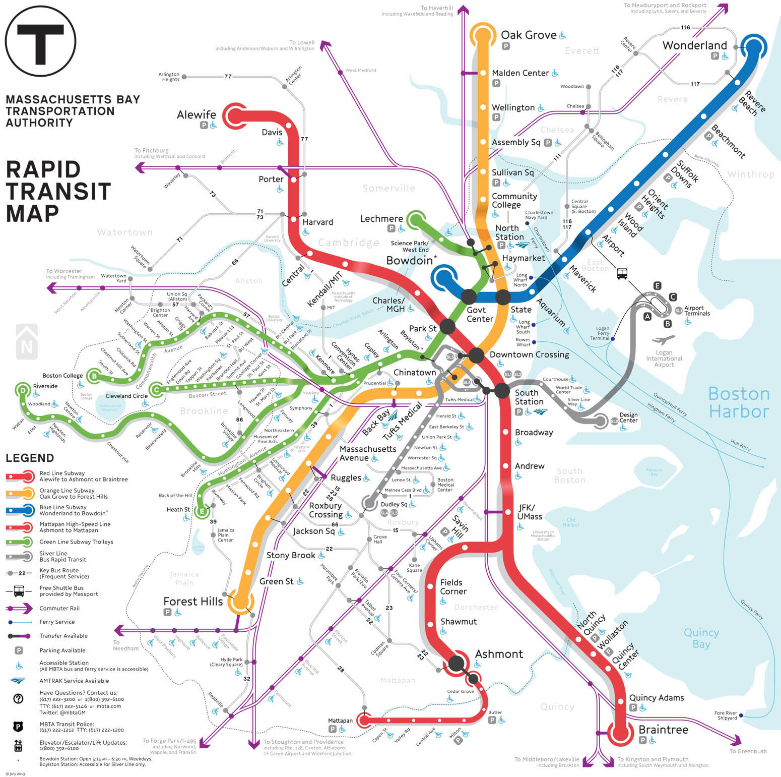 Map of the Week: The MBTA Map Competition Finals
