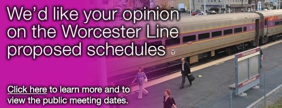 2017 - Worcester Schedule Changes