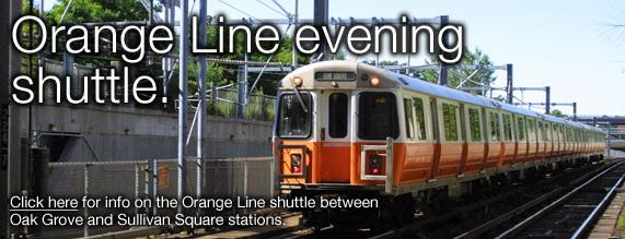 2014- Early Access Shuttle- Orange Line