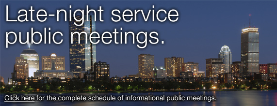 Late Night Service Meetings Promo