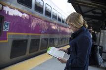 A rolling free read on the Greenbush Line thumb