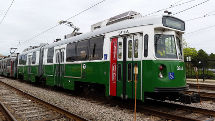 Green Line Refurbished Trolley w215