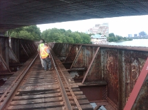 Charlies Bridge Inspection