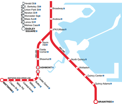 Gallery For Gt Red Line Mbta