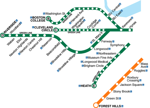 mbta green line boston