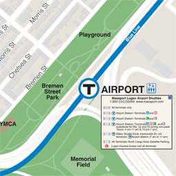Airport Neighborhood Map thumbnail
