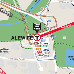 Alewife Neighborhood Map thumbnail