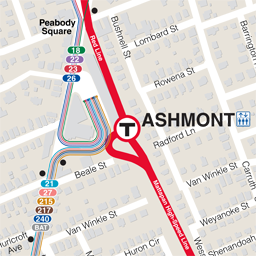 Ashmont Neighborhood Map thumbnail