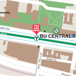 BU Central Neighborhood Map thumbnail