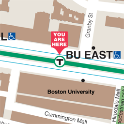 BU East Neighborhood Map thumbnail