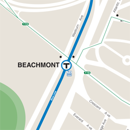 Beachmont Neighborhood Map thumbnail
