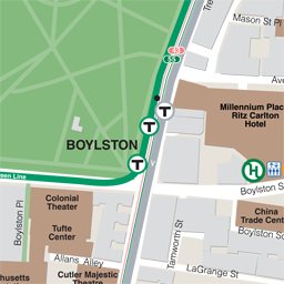 Boylston Neighborhood Map thumbnail