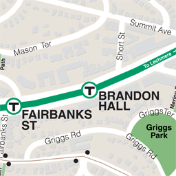 Brandon Hall Neighborhood Map thumbnail