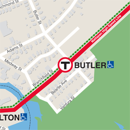 Butler Neighborhood Map thumbnail
