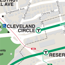 Cleveland Cir Neighborhood Map thumbnail