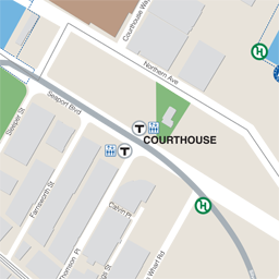 Courthouse Neighborhood Map thumbnail