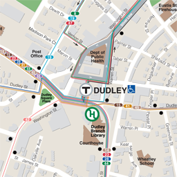 'Dudley Square Bus Map'