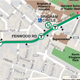 Fenwood Rd Neighborhood Map thumbnail