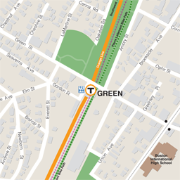 Green Street Neighborhood Map thumbnail