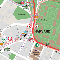 Harvard Neighborhood Map thumbnail