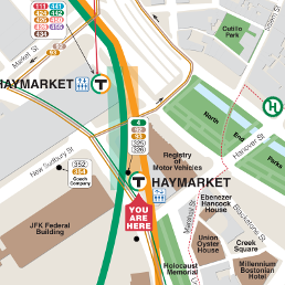 Haymarket Neighborhood Map thumbnail