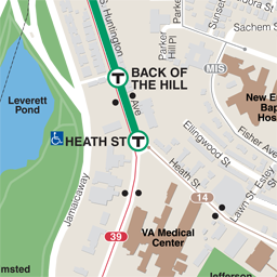 Heath St Neighborhood Map thumbnail