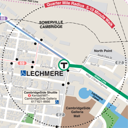 Lechmere Neighborhood Map thumbnail