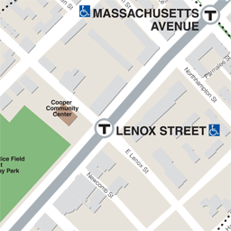 Lenox St Neighborhood Map thumbnail