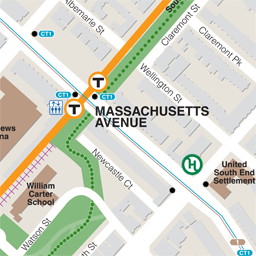 Mass Ave Neighborhood Map thumbnail
