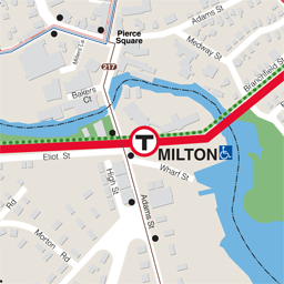 Milton Neighborhood Map tn
