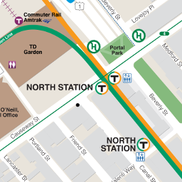 N Station Neighborhood Map thumbnail