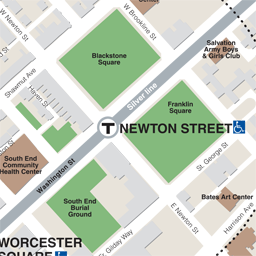 Newton St Neighborhood Map thumbnail