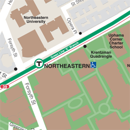 Northeastern Neighborhood Map thumbnail