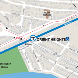 Orient Heights Neighborhood Map thumbnail
