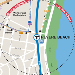 Revere Beach Neighborhood Map thumbnail
