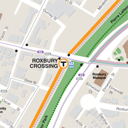 Roxbury Crossing Neighborhood Map thumbnail