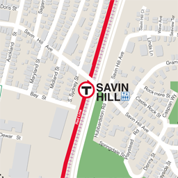 Savin Hill Neighborhood Map thumbnail