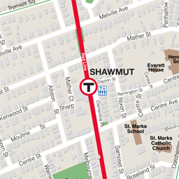 Shawmut Neighborhood Map thumbnail