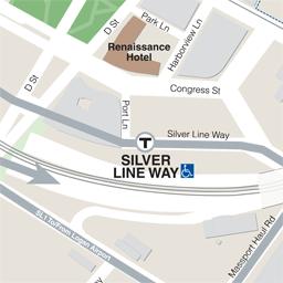 MBTA Gt Schedules Amp Maps Gt Subway Gt Silver Line Way Station